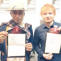 Pharrell and ed sheeran