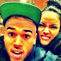 Chris brown karrueche picture