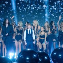 Ariana grande ed sheeran victorias secret fashion show pic