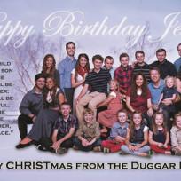 Duggar family christmas card