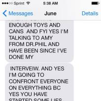 June shannon talks threesome