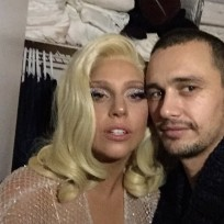James franco lady gaga photo