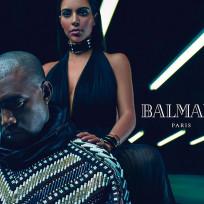 Kanye west kim kardashian ad