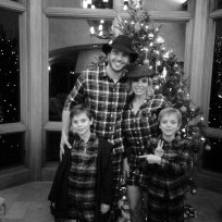 Britney spears charlie ebersol christmas photo