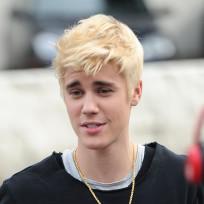 Justin bieber goes blonde