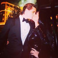 Scott and kourtney kiss