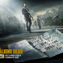 The walking dead key art