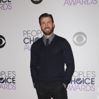 Chris evans at the peoples choice awards