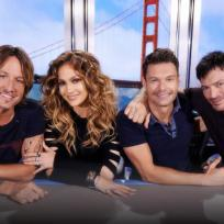 American idol season 14 judges and ryan seacrest