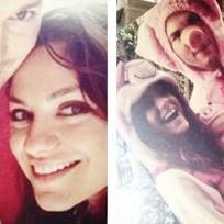 Ashton kutcher and mila kunis baby