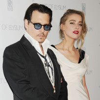 Johnny depp amber heard red carpet pic