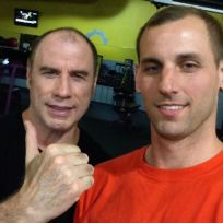 John travolta gay selfie