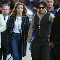 Johnny depp amber heard image