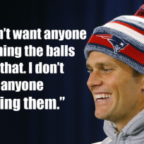 Tom brady defends use of balls dont rub my balls