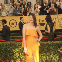 Caitriana balfe at the sag awards