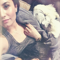 Demi wilmer and doggy