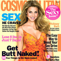 Whitney Port Cosmopolitan Cover