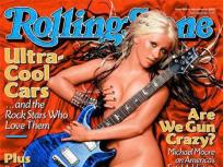 Naked Guitar Girls: Nude Shyamali Malakar vs. Nude Christina Aguilera