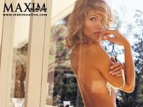 Tricia Helfer: Naked, Fetching in Maxim