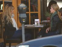 Lauren Conrad and Lo Bosworth Filming The Hills