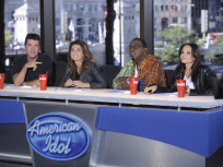 Shania on Idol