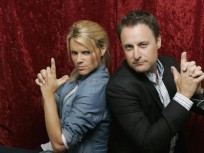 Ali Fedotowsky and Chris Harrison