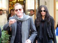 Kiefer Sutherland and Siobhan Bonnouvrier: It's Over!