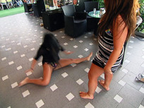 Deena and Snooki Dancing