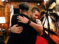 Vinny and Pauly Hug