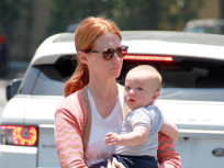Celebrity Hair Affair: January Jones Goes Red