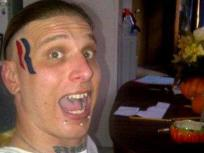 Eric Hartsburg, Romney Face Tattoo Guy