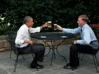 Cheers at the Oval Office