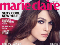 Keira Knightley in Marie Claire: Gorgeous, Gushing Over Kate Middleton Baby