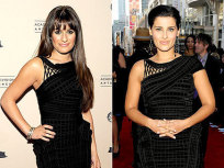 Fashion Face-Off: Lea Michele vs. Nelly Furtado