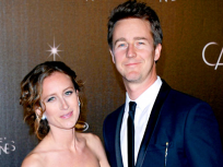 Edward Norton and Shauna Robertson: Married!