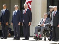 George W. Bush Library Dedicated, Five Living U.S. Presidents Converge