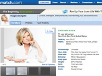 Martha Stewart Match.com Profile: Revealed!