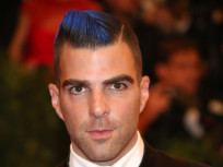 Zachary Quinto Blue Hair: Cool or Creepy?