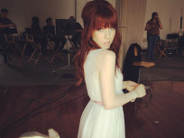 Carly Rae Jepsen Dyes Hair Red