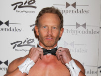 Ian Ziering Goes Shirtless, Makes Chippendales Debut