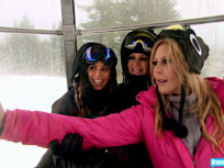 Selfies in the Ski Lift