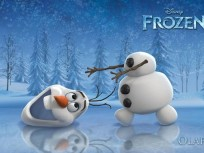 Josh Gad as Olaf in Frozen
