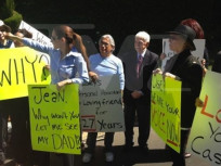 Casey Kasem Family Feud: Kids Protest Outside Gate, Say Stepmom Won't Let Them In