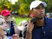 Lindsey Vonn Puts Baby Squirrel on Tiger Woods, Wins Presidents Cup For U.S.