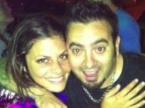 Chris Kirkpatrick and Karly Skladany