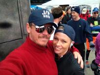 Pamela Anderson Finishes New York City Marathon, Buries Self in Bags of Ice