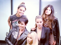 Nicki Minaj Poses with Some Kardashians, Looks Totally Thrilled