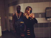 Kim Kardashian: No Underwear in Bathroom Selfie With 'Ye!