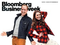 Kate Middleton, Prince William Wear J. Crew in Bloomberg Businessweek, Awesome GIF