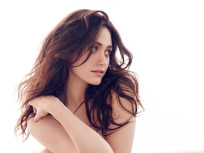 "Emmy Rossum Goes Topless in Esquire, Brags About Dog's ""Big Penis"""